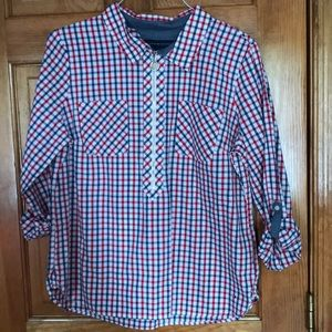 NWT Women's Tommy Hilfiger Red/white/blue tunic